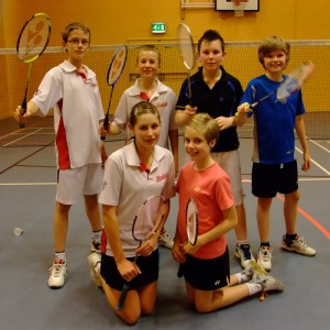 Mansfield Juniors Badminton Club U15 B Team